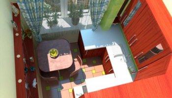 Проблемы маленьких кухонь квартир-«хрущевок»