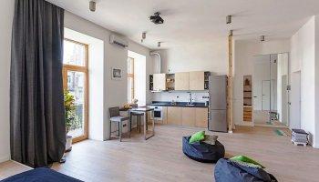 Стиль «квартира-студия»