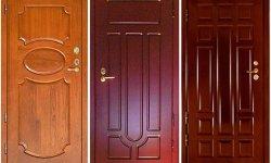 Материалы для отделки дверей